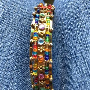 Jewelry - Multi colored bangles